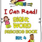 Sight Word (Dolch) Practice Book List 4