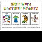 Sight Word Emergent Readers – Pack 1