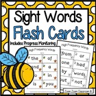 Sight Word Flash Cards with Beatrix Bee High Frequency Wor