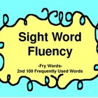 Sight Word Fluency - 2nd 100 Frequently Used Words