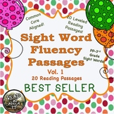 Sight Word Fluency Passages-20 Leveled Passages-Vol. 1
