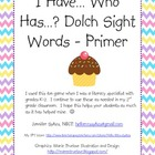 Sight Word Game - Dolch primer list