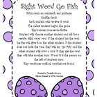 Sight Word Go Fish - Easter Edition