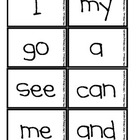 Sight Word Jump Up-Kindergarten
