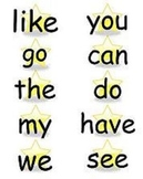 Sight Word Labels
