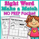 Sight Word Make a Match Primer Edition