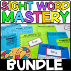 Sight Word Mastery Bundle: Sight Word Kit for an Entire Year