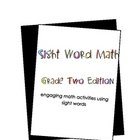 Sight Word Math: Grade 2 Edition