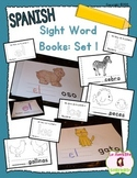 Sight Word Mini Books: Set 1 (Spanish)