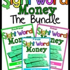 Sight Word Money (The Bundle)