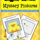 Sight Word Mystery Pictures-April Set 1