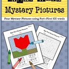 Sight Word Mystery Pictures-April Set 2
