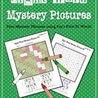 Sight Word Mystery Pictures- December Set 2