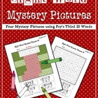 Sight Word Mystery Pictures- December Set 4