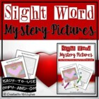 Sight Word Mystery Pictures- February Set 1