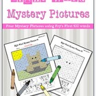 Sight Word Mystery Pictures- February Set 2