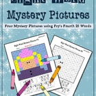 Sight Word Mystery Pictures- January Set 2