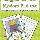 Sight Word Mystery Pictures-March Set 1