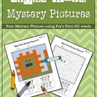 Sight Word Mystery Pictures-March Set 2