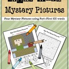 Sight Word Mystery Pictures-May Set 1