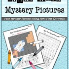 Sight Word Mystery Pictures-May Set 2