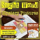 Sight Word Mystery Pictures- November Set 2