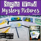 Sight Word Mystery Pictures - October Set 1