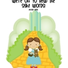 Sight Word Phrases: We're off to read the Sight Words