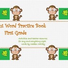 Sight Word Practice and Activities Book