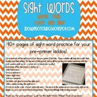 Sight Word * Pre-Primer