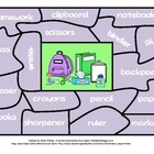 Sight Word Puzzle Center - School Themed