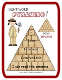 Sight Word Pyramids!  Dolch 3rd Grade