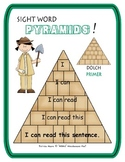 Sight Word Pyramids!  Dolch Primer