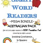Sight Word Readers ~MEGA BUNDLE~ NSW Foundation Font Pack