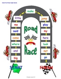 Sight Word Road Race Game (Dolch Pre-Primer Sight Words)