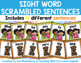 Sight Word Scrambled Sentences