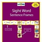 Sight Word Sentence Frames Units 14-16