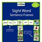 Sight Word Sentence Frames Units 24-26