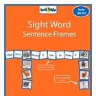 Sight Word Sentence Frames Units 30-32