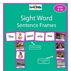 Sight Word Sentence Frames Units 8-10