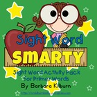 Sight Word Smarty!  Activity Pack for Primer Words