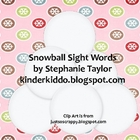 Sight Word Snowballs