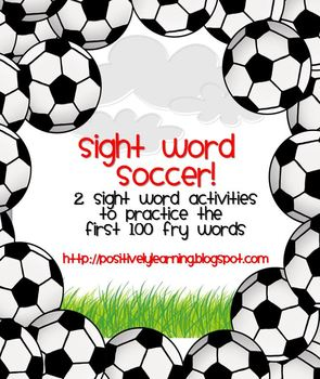 Sight Word Soccer!