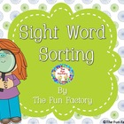 Sight Word Sorting Activities for Centers, K-1