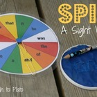 Sight Word Spinner - Free Printable