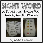 Sight Word Sticker Books {Fry's First 100 Words}