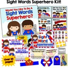 Sight Words Superhero!  Everything You Need to Motivate an
