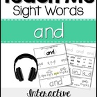Sight Word Tutor: AND [Interactive Center with Printables
