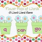 Sight Word Wands: May Flowers
