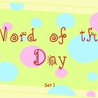 Sight Word of the Day - PowerPoint